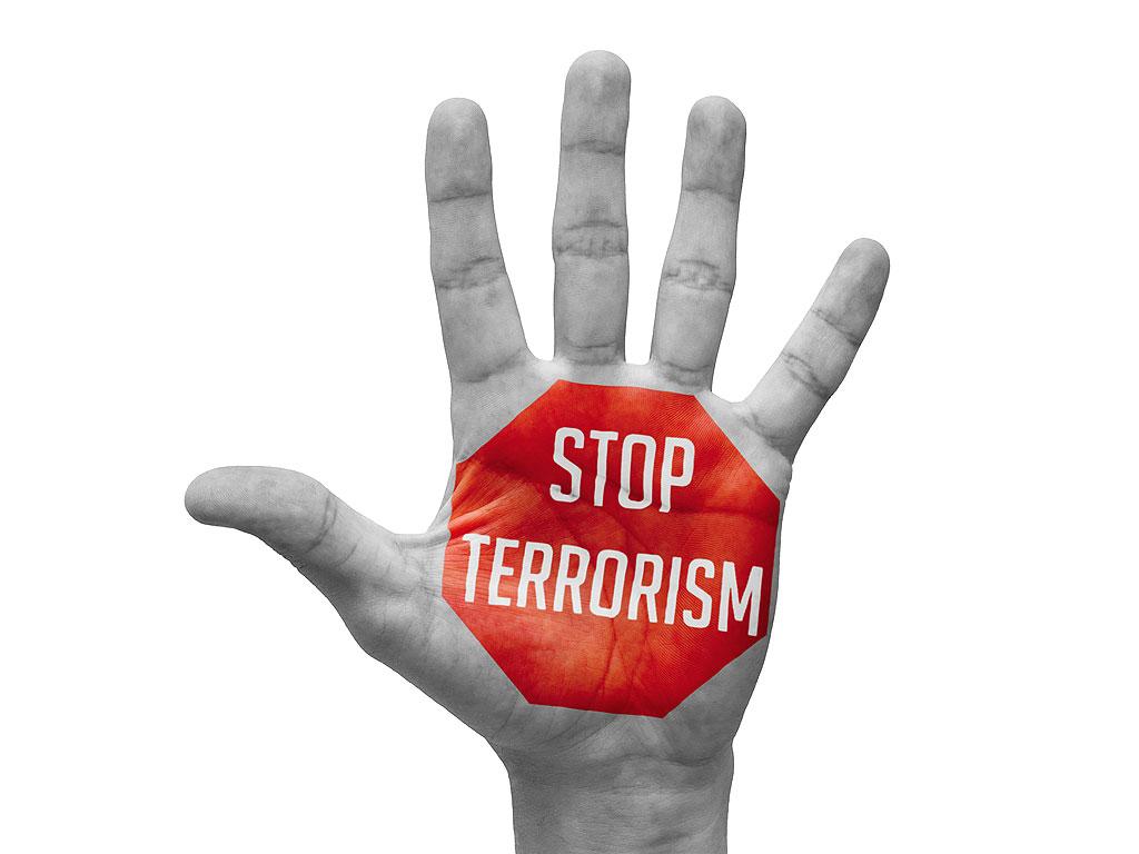 La parole claire mettant en garde contre les terroristes et le terrorisme