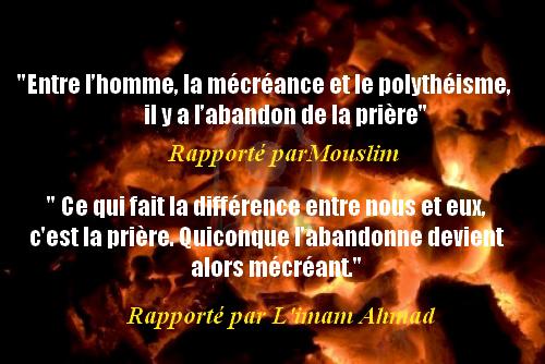 Read more about the article Jugement sur Celui qui Abandonne la Prière