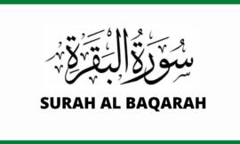 Sourate AL-BAQARAH / البقرة en arabe   Sourate 2