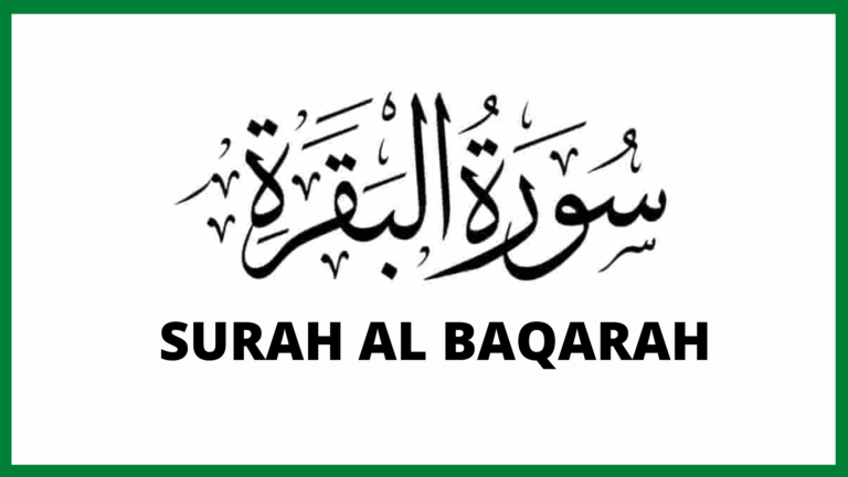 Read more about the article Sourate AL-BAQARAH / البقرة en arabe | Sourate 2